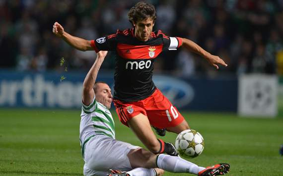 UEFA  CL - Celtic vs SL Benfica , Scott Brown &amp; Pablo Aima 