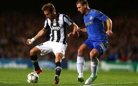 Marchisio &amp; Ivanovic - Chelsea-Juventus - Champions League
