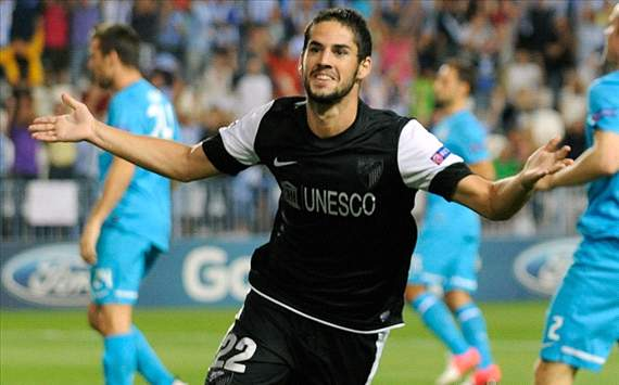Malaga target Isco contract extension
