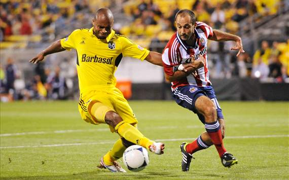 Julius James, Columbus Crew; Nick LaBrocca, Chivas USA; MLS