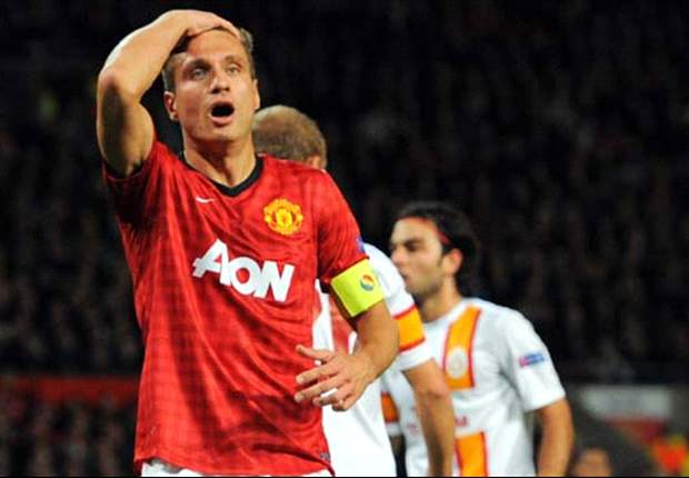 TEAM NEWS: Vidic on bench for Manchester United's fixture against Sunderland