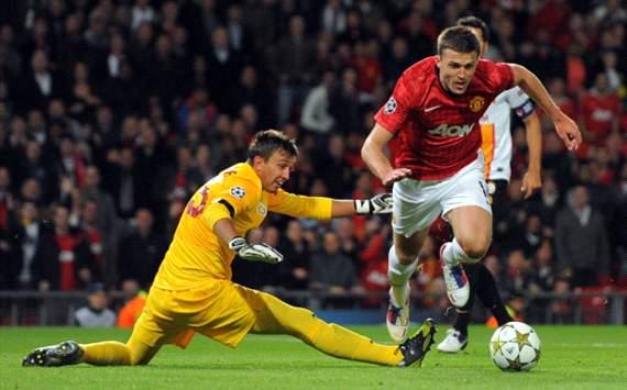 Fernando Muslera - Michael Carrick, Manchester United - Galatasaray