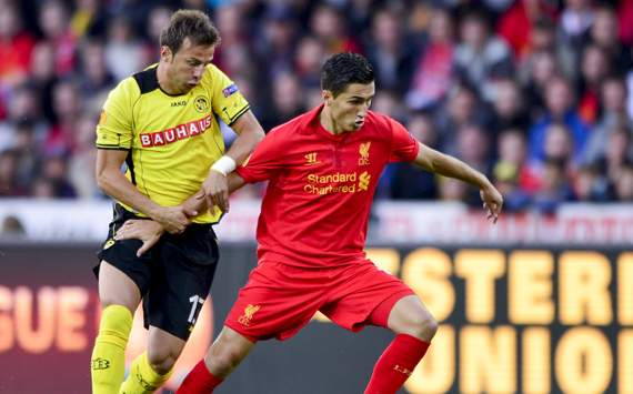 Europa League - YOUNGBOYS-LIVERPOOL, Nuri Sahin and Elsad Zverotic