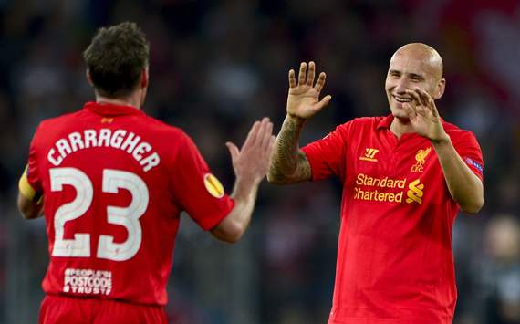 Europa League - YOUNGBOYS - LIVERPOOL, Jonjo Shelvey and Jamie Carragher