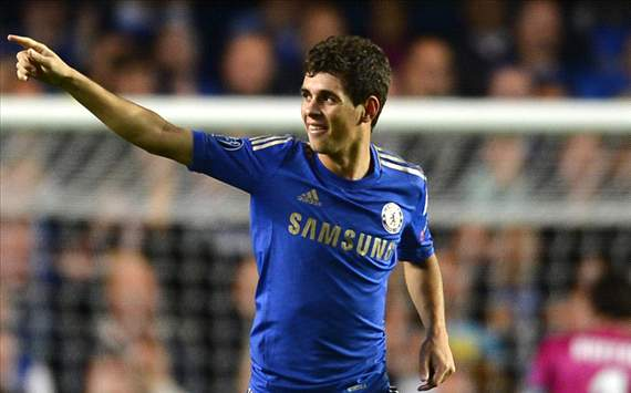 Oscar: I want to be a Chelsea legend like Lampard and Terry