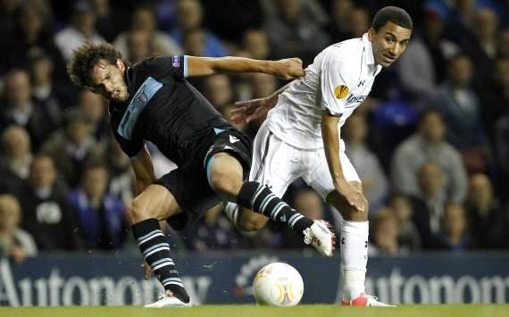 Alvaro Gonzalez, Aaron Lennon - Tottenham-Lazio