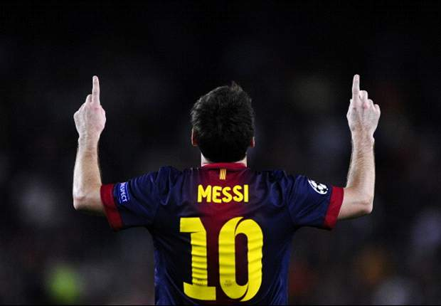 Messi will be the best of all time, says Barcelona boss Vilanova