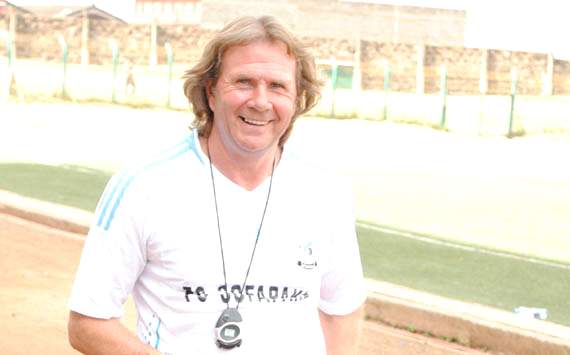 Sofapaka coach Hall complains that they are relying too much on top scorer John Barasa