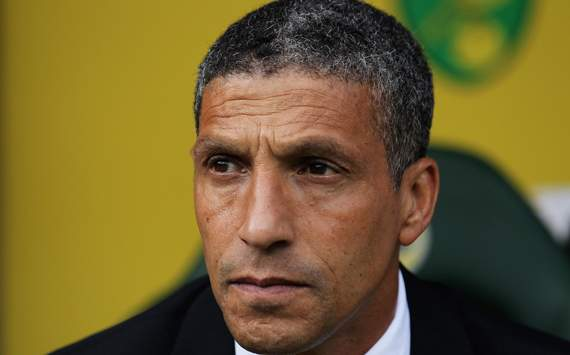 Norwich boss Hughton wary of strong Manchester City reaction after Sunderland loss