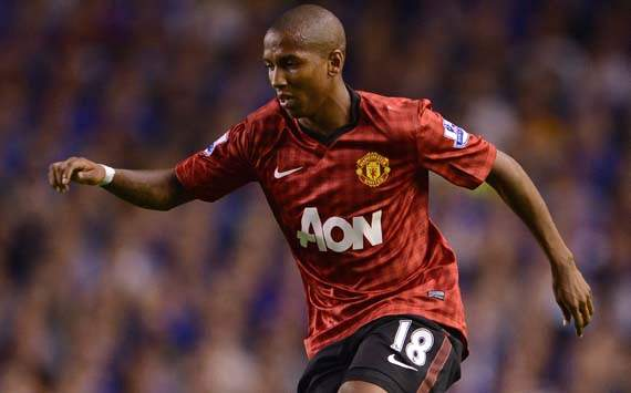 EPL; Ashley Young; Everton v Manchester United