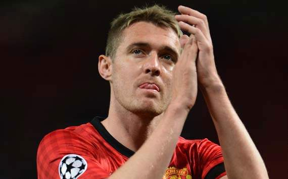 Manchester United midfielder Fletcher to miss rest of the season