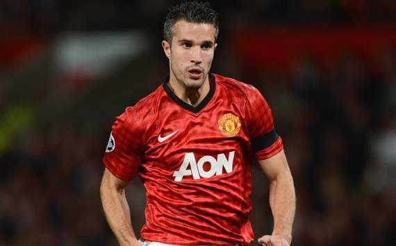 UEFA Champions League; Robin van Persie, Manchester United v Galatasaray