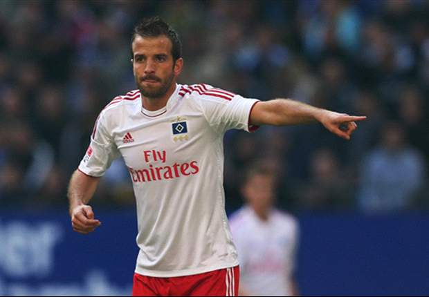 Van der Vaart haunted by Hamburg penalty miss