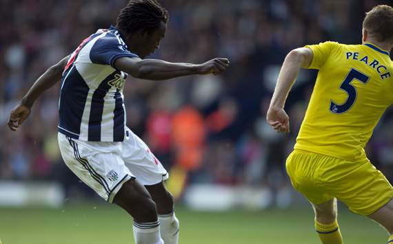 EPL - WBA-READING, Romelu Lukaku and Alex Pearce