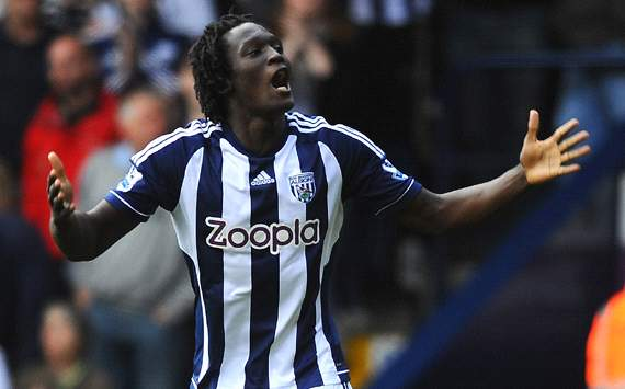 EPL, West Bromwich Albion v Reading, Romelu Lukaku