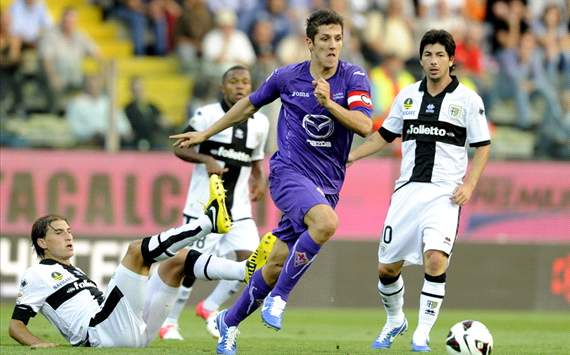 Stevan Jovetic (F) - Parma-Fiorentina - Serie A