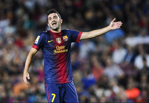 TEAM NEWS: David Villa starts, while Lionel Messi is on the bench, as Barcelona host Cordoba