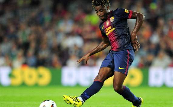 Midfielder Song is feeling at home after Barcelona move