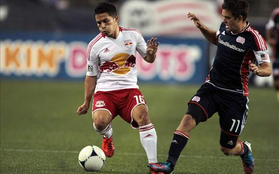 Kelyn Rowe, Connor Lade, New England Revolution, New York Red Bulls, Major League Soccer