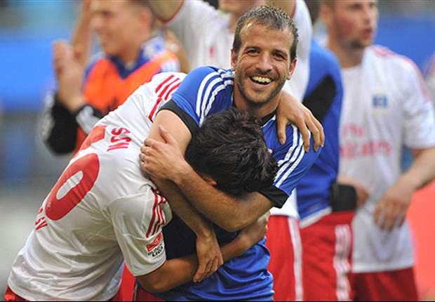 Van der Vaart: Dortmund win commanded Hamburg respect