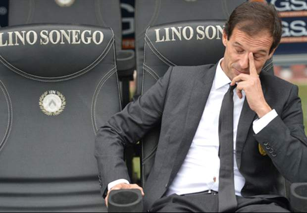 AC Milan must sack Allegri following Udinese loss