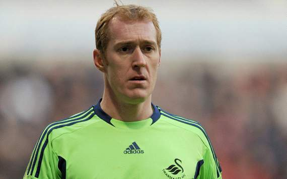 Swansea keeper Tremmel ready to fill in for injured Vorm