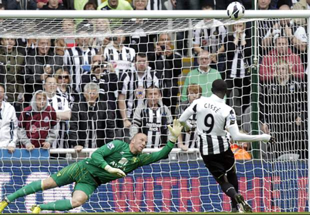 Pardew didn't want Papiss Cisse to take Newcastle penalty in Norwich victory