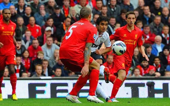EPL - Liverpool v Manchester United , Rafael Da Silva