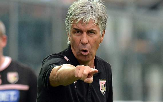 Palermo coach Gasperini attacks Inter