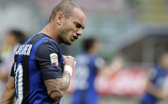 Inter Mailand: Wesley Sneijder im Clinch mit Sportdirektor Marco Branca