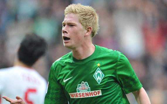 Chelsea midfielder De Bruyne: I am happy at Werder Bremen