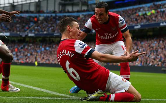 EPL - Manchester City vs Arsenal,Laurent Koscielny