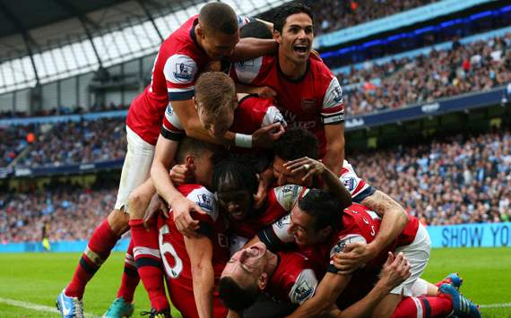 Wenger hails 'top class' Koscielny after late strike against Manchester City