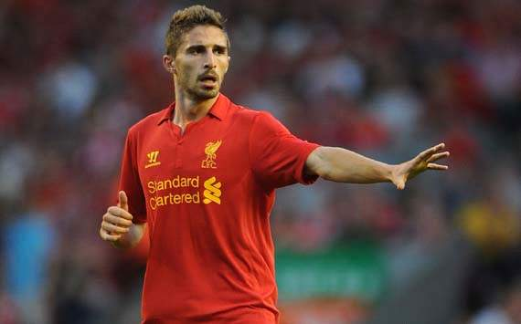 Liverpool striker Borini out for the season after sustaining dislocated shoulder