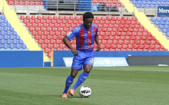 Martins thrilled goalscoring Levante form has earned Nigeria return