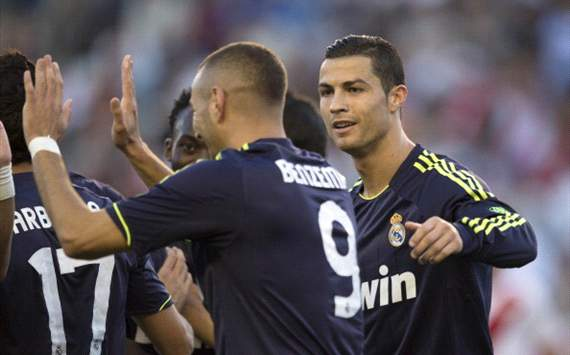 Karim Benzema, Cristiano Ronaldo - Real Madrid