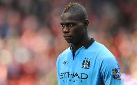 Mario Balotelli of Manchester City
