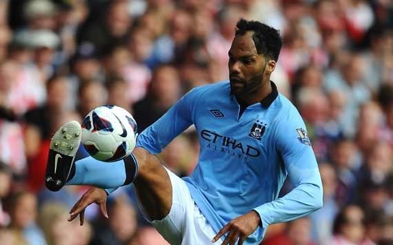 Joleon Lescott of Manchester City