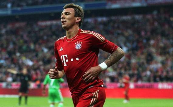 Mario Mandzukic Wolfsburg