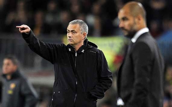 Jose Mourinho;   Real Madrid;  Josep Guardiola; Barcelona