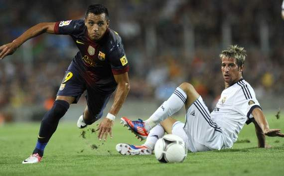 Liga : Alexis Sanchez vs Fabio Coentrao (FC Barcelona vs Real Madrid)