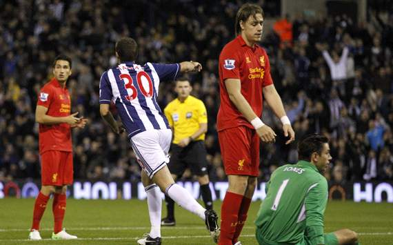 Capital One Cup, West Bromwich Albion v Liverpool