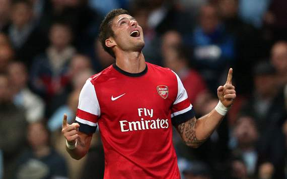 Capital One Cup, Arsenal v Coventry City, Olivier Giroud