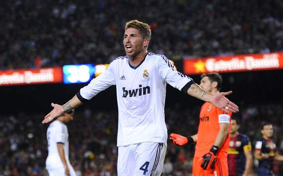 Sergio Ramos: Barcelona chase motivates Real Madrid