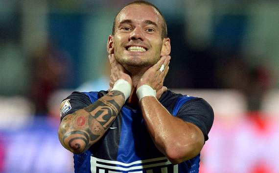 Sneijder not leaving Inter for Anzhi, insists agent
