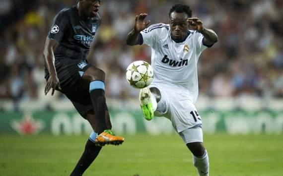 Michael Essien, Yaya Toure - Real Madrid, Manchester City