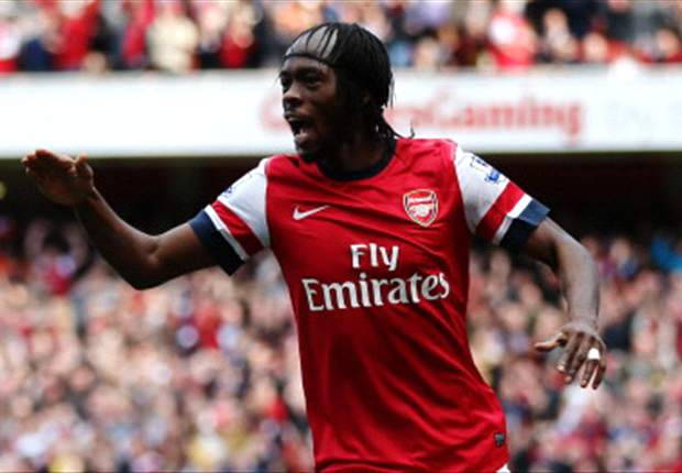 'I feel good there' - Arsenal striker Gervinho delighted with new role