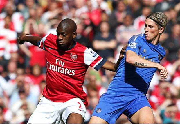 Arsenal midfielder Diaby out for minimum of three weeks with thigh strain