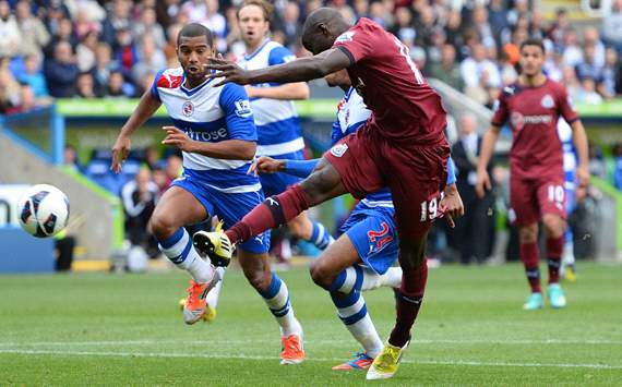 EPL: Demba Ba, Reading v Newcastle United