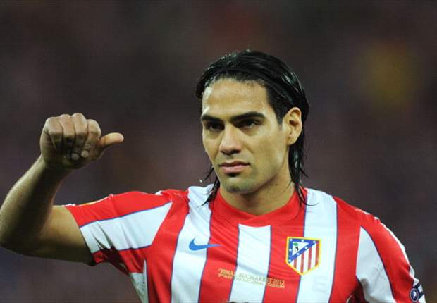Falcao not thinking about Atletico exit
